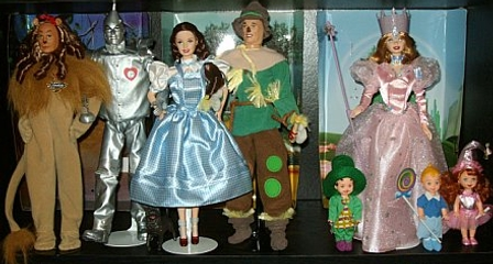 Wizard of Oz Barbie collection- 1999